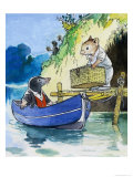 Wind in the Willows - Kenneth Grahame Wall Poster