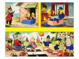 Dicky and Dolly (BD) Reproduction procédé giclée par Ron Nielsen