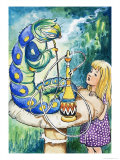 Alice in Wonderland Giclee Print by Philip Mendoza