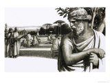 Plato, the Great Philosopher Giclee Print by John Millar Watt