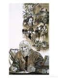The Prophets: Nostradamus Giclee Print by Richard Hook