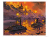 The Siege of Vicksburg Giclee Print by Angus Mcbride