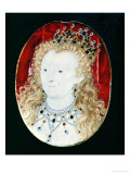 Miniature of Queen Elizabeth I Giclee Print by Nicholas Hilliard