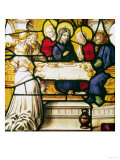 Panel Depicting St. Andrew at the Supper at Emmaus Giclee Print