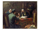 Theological Debate, 1888 Giclee Print by Eduard Frankfort