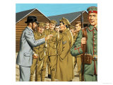 Unidentified Soldiers Giclee Print by Jack Keay