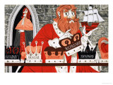 The King's Toy Boat Giclee Print by Richard Hook