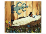 The Story of Tom Thumb Giclee Print by Eduardo Teixeira Coelho