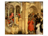 The Nuptials of the Virgin Giclee Print by  Master of Flemalle