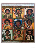 9 Guardian Angels, 1991 Giclee Print by Laura James