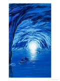 The Blue Grotto in Capri Giclee Print by Angus Mcbride