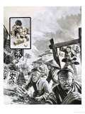 The Tokyo Earthquake With Giclee Print by Gerry Wood