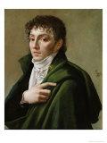 Portrait of Etienne-Henri Mehul Giclee Print by Baron Antoine Jean Gros