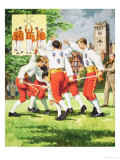 Scottish Sword Dance, Giclee Print