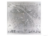 Map of Florence, 1783 Giclee Print by  Magnelli