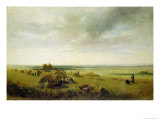 Corn Field Giclee Print by Peter De Wint