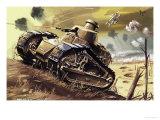 Tank Giclee Print by Dan Escott