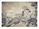 Rocky Landscape Giclee Print by Hercules Seghers