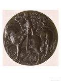 Portrait Medal, Reverse Depicting Gianfrancesco Gonzaga Giclee Print by Antonio Pisani Pisanello