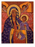 Mary and Jesus, 1991 Giclee Print by Laura James