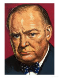 Winston Churchill Giclee Print by Clive Uptton