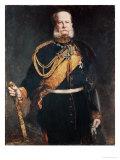 Kaiser Wilhelm I Giclee Print by Gottlieb Biermann