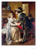 The Wedding Present, 1874 Giclee Print by Pierre Jan Van Der Ouderra
