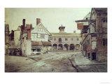 Market Place, Hereford, 1803 Giclée-Druck von Cornelius Varley