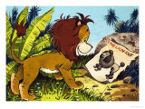 Leo the Friendly Lion Impressão giclée por Bert Felstead