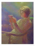 Woman Reading, 1921 Giclee Print by Kamir-kaufman 