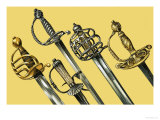 Swords Giclee Print by Dan Escott