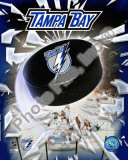 2008 Tampa Bay Lightning Team Logo Photo