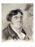 Portrait of Ivan Krylov, 1812 Giclee Print by Alexander Orlowski