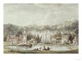 The Hameau, Petit Trianon Giclee Print