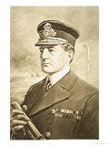 Vice-Admiral Sir David Beatty Giclee Print by Charles Mills Sheldon