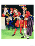 The Three Soldiers Giclee Print by Ron Embleton