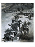 Dunkirk War Scene Giclee Print by Graham Coton