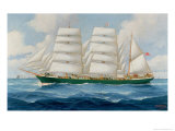 The Barque Kilmeny Giclee Print by John Henry Mohrmann