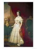 Empress Elizabeth of Bavaria Giclee Print by Franz Russ