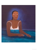 Woman in Water, 2004 Giclee Print by Laura James