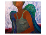 9/11 Angel, 2005 Giclee Print by Laura James
