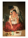 The Gipsy Boy and Girl Giclee Print by Jose Agustin Arrieta