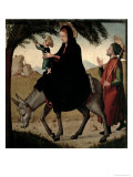The Flight Into Egypt Giclee Print by Juan de Borgona