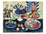 Still Life of Fruit, 1913 Giclee Print by Ilya Ivanovich Mashkov