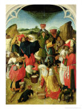 Gathering of the Manna Giclee Print by Master Of The Gathering Of The Manna 