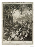 Scene of Hell, 1731 Giclee Print by Bernard Picart