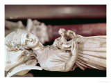 Pulpit, Detail of Sculpture Giclée-tryk af Giovanni Pisano