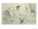 Maxim Gorky Giclee Print by Ilya Efimovich Repin