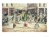 Jack in the Green, May Day Celebrations of the Chimney Sweeps of London Giclee Print by Thomas Sevestre