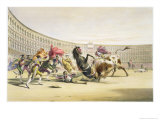 The Picador in Danger, 1865 Giclee Print by William Henry Lake Price